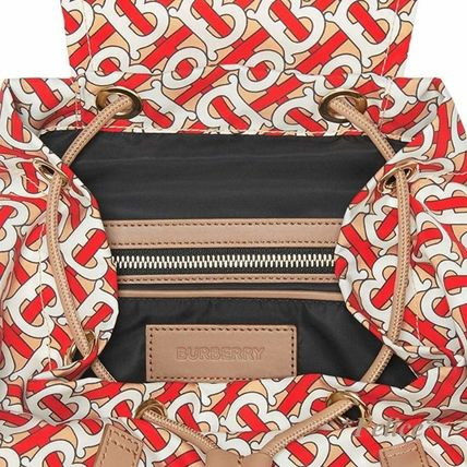 Burberry バックパック・リュック *BURBERRY*モノグラムプリント バックパック 関税/送料込(5)