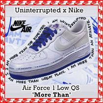 Uninterrupted x Air Force 1 Low QS 'More Than' AW 19 2019