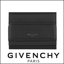 大特価 GIVENCHY  Horizon Trifold Wallet Leather Black