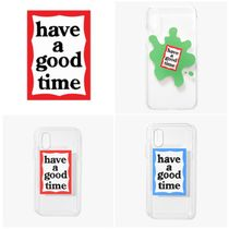[have a good time] Frame iPhone Case X / Xs (関税送料込)