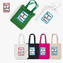 [have a good time] FRAME TOTE BAGトートバッグ エコバッグ