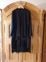 COS DRESS WITH DRAPED LAYER