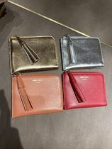SALE!!【Jimmy Choo】ATHINI COIN CASE★2色★フリンジ