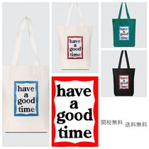 [HAVE A GOOD TIME] ハブアグットタイム Frame Tote Bag バッグ