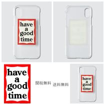[HAVE A GOOD TIME]ハブアグットタイム Frame iPhoneCase X / Xs