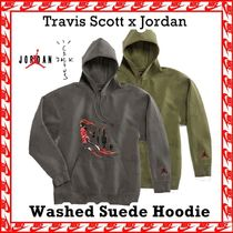 Travis Scott x Nike Air Jordan Washed Suede Hoody AW 19 2019