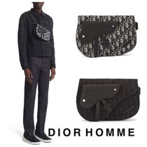 【DIOR HOMME】《Saddle Dior Oblique》ショルダー◆安心追跡付!