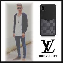Louis Vuitton:IPHONE バンパー XS MAX  ダミエ・グラフィット