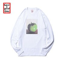 [have a good time] Apple Long Sleeve T-shirt