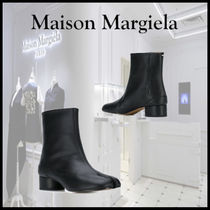 【19AW新作】 MAISON MARGIELA Ankle boots with Tabi toe
