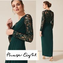 【送料関税無料】Phase Eight★Melony Sequin Sleeve Maxi Dress