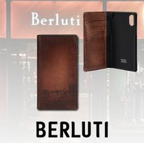 【★日本未入荷★】Berluti☆ iPhone XS Max Calf ケース♪