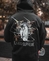 ★ Supreme ★ FW 19 Week 6 ★ 1-800 Hooded Sweatshirt