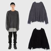 日本未入荷 [Raucohouse] DAMAGE KNITWEAR 2COLOR ニット