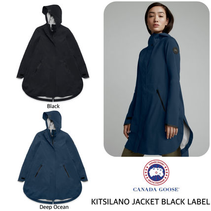 CANADA GOOSE コート CANADA GOOSE レディース KITSILANO JACKET BlackLabel RainCoat