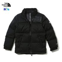 THE NORTH FACE 大人もOK ロゴ ブラック NUPTSE DOWN JACKET