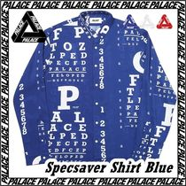 Palace Skateboards(パレススケートボーズ) ブラウス・シャツ [パレス] Palace Specsaver Shirt BLUE AW FW 19 2019