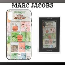 『MARC JACOBS』Peanuts Charlie Brown iPhone X case☆関税込★