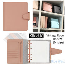 Kikki.K◇B6サイズレザー製手帳/SIGNATURE EDITION/Vintage Rose