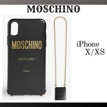 『MOSCHINO』Couture チェーン iPhone X/XScase☆関税込*★