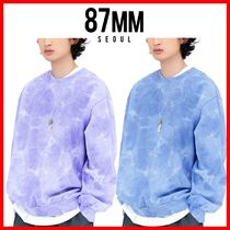 ☆韓国の人気☆【87MM】☆[Mmlg] EMEMELGE BLEACH SWEAT☆2色☆