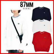 ☆韓国の人気☆【87MM】☆[Mmlg] JQD RIB SWEAT☆3色☆