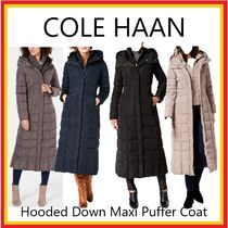 SALE!COLE HAAN コールハーン★Hooded Down Maxi Puffer Coat