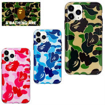 ★お洒落 ☆3color A BATHING APE Camo iPhone 11 Pro Case BAPE