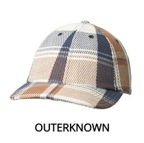 【Outer known】暖かくて柔らか♪ BLANKET DAD HAT-Juneau Plaid