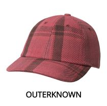 【Outer known】暖かくて柔らか♪ BLANKET DAD HAT-Dusty Red