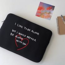 韓国人気★ bora and ★ Heart laptop pouch 13inch / 15inch