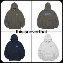[ Thisisneverthat ]  NEW SPORT HOODED SWEATSHIRT