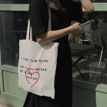 韓国人気★ bora and ★ Heart eco bag