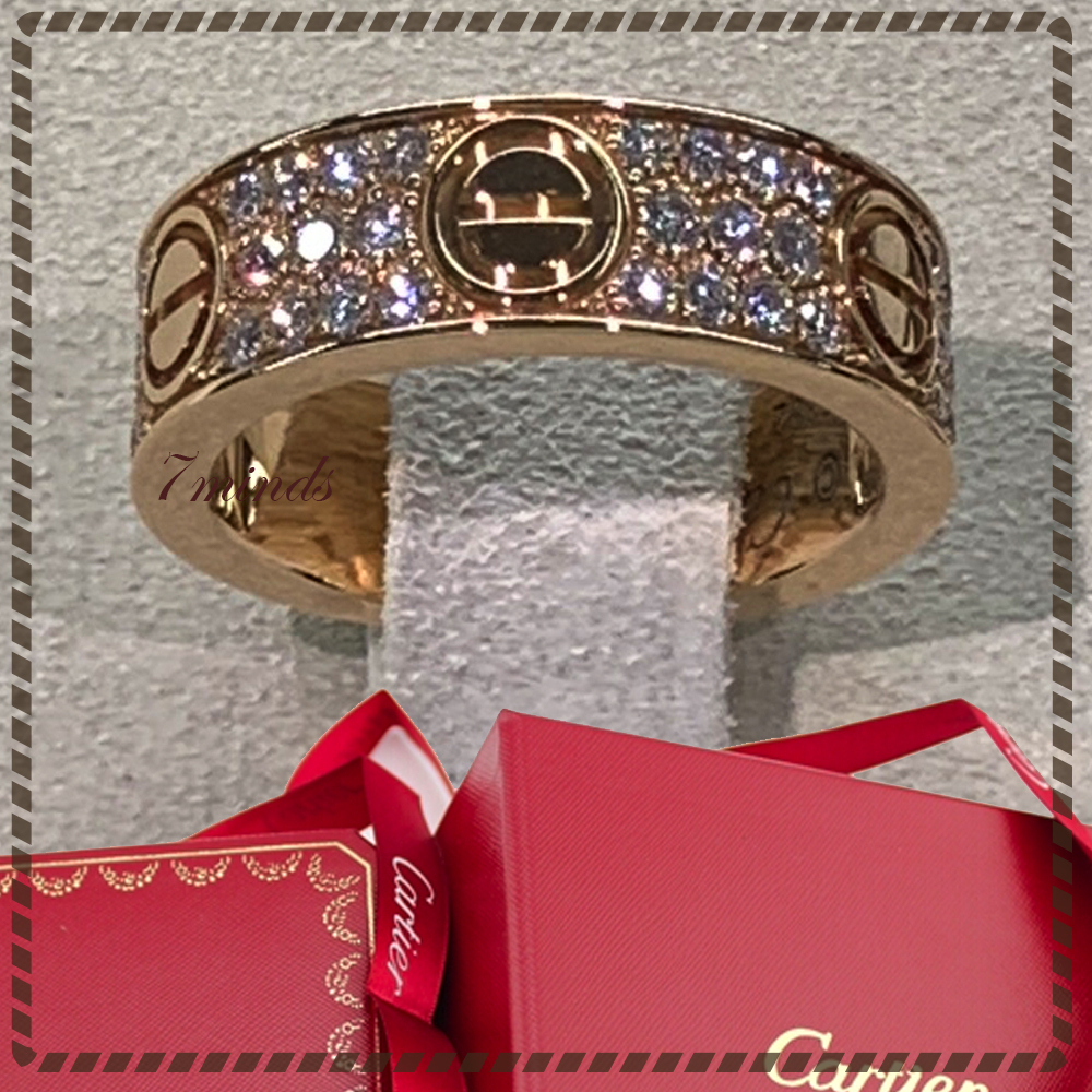 Cartier - Love ring, Diamond Paved (Cartier/指輪・リング) 48142151