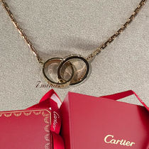 Cartier - LOVE Necklace Diamonds Yellow/Pink Gold