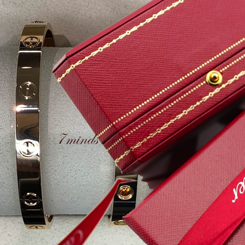 Cartier - LOVE BRACELET YELLOW/PINK GOLD (Cartier/ブレスレット) 48142278