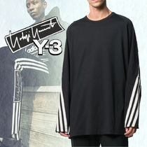 New◆Y-3 ◆スタイリッシュ 3-STRIPES PACKABLE LONG SLEEVE T