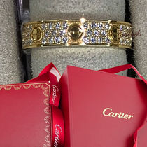 Cartier - Love ring, Diamond Paved Pink Gold