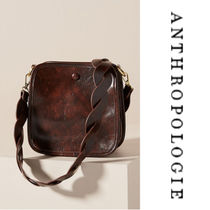 【Anthropologie】Bette Vegan Leather Crossbody Bag cスクエア