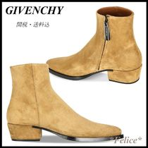 *GIVENCHY*DALLAS SUEDE ANKLE BOOTS 関税/送料込