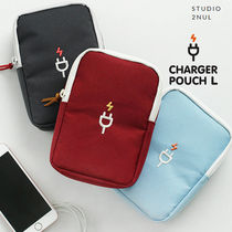 [2nul] CHARGER POUCH L-デジタルポーチ/充電器ポーチ