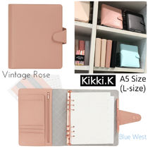 Kikki.K◇レザー製手帳 A5サイズ/SIGNATURE EDITION/VintageRose