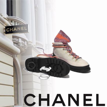 CHANEL シューズ・サンダルその他 CHANEL Chaussures a lacets レースアップ 2019AW 新作