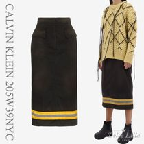 CALVIN KLEIN 205W39NYC Skirt with Reflective Band