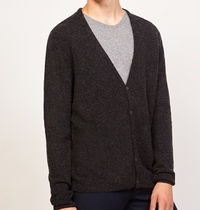 "American Vintage(アメリカンヴィンテージ) カーディガン ""American Vintage"" MEN'S CARDIGAN ULICITY CHARCOAL"