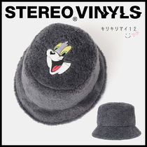 ★STEREO X TOM and JERRY★コラボ ファー ボア バケットハット