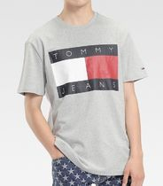 TOMMY JEANS BIG FLAG T-SHIRT TJM TOMMY FLAG TEE