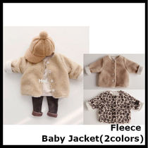 【Hei】Fleece baby jacket