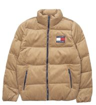 Tommy Jeans TJM Cord Puffer Jacket ブラウン ネイビー 国内送料無料