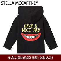 Stella McCartney Have a Nice Day キッズフード付きパーカー